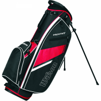 Wilson Prostaff Carry Bag - Black/Red
